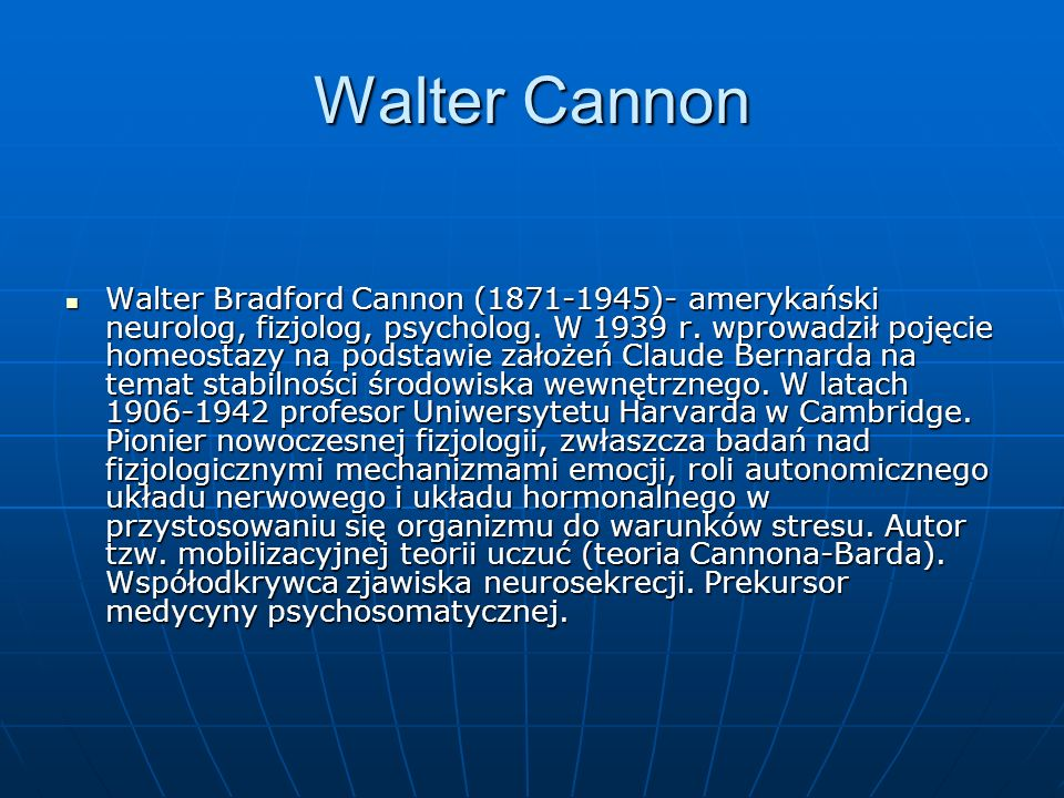 Walter Cannon