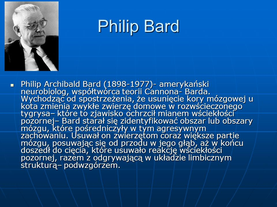 Philip Bard