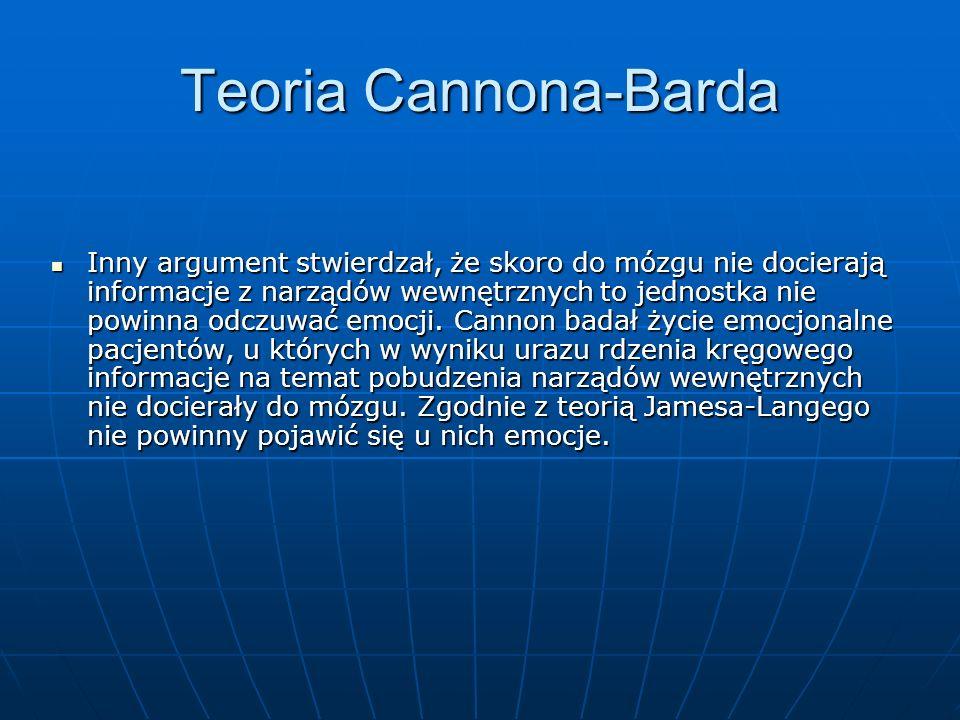 Teoria Cannona-Barda