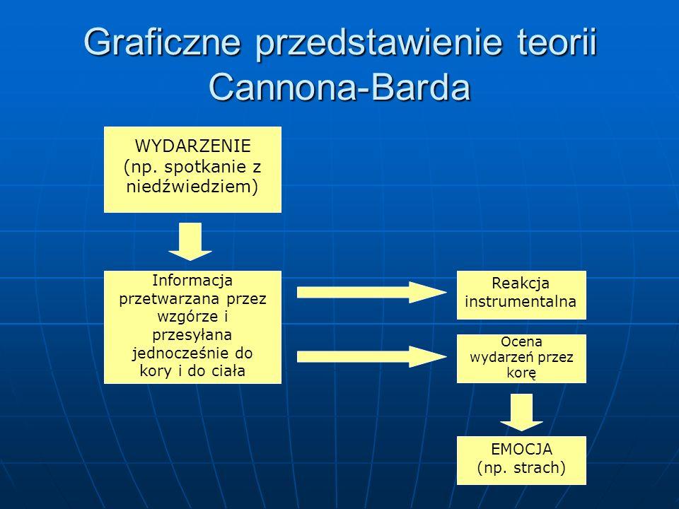 Graficzne przedstawienie teorii Cannona-Barda