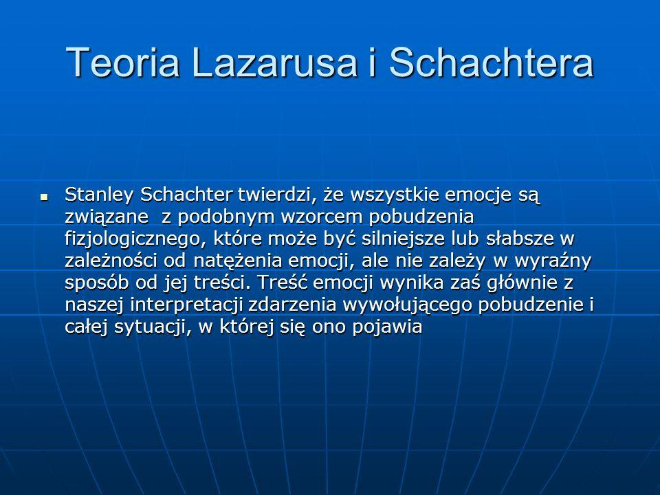 Teoria Lazarusa i Schachtera