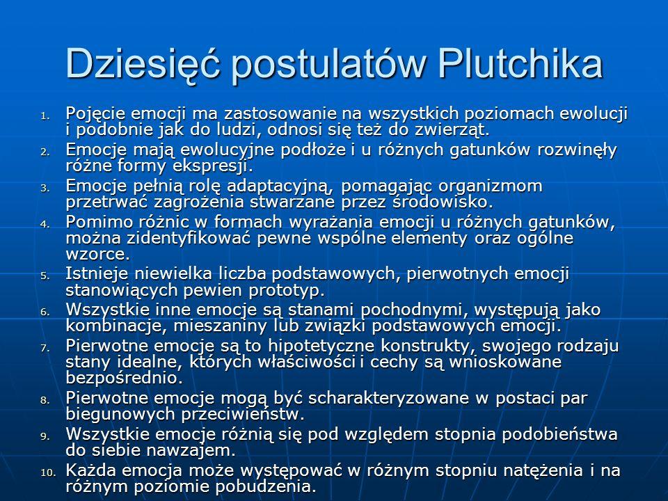 Dziesięć postulatów Plutchika