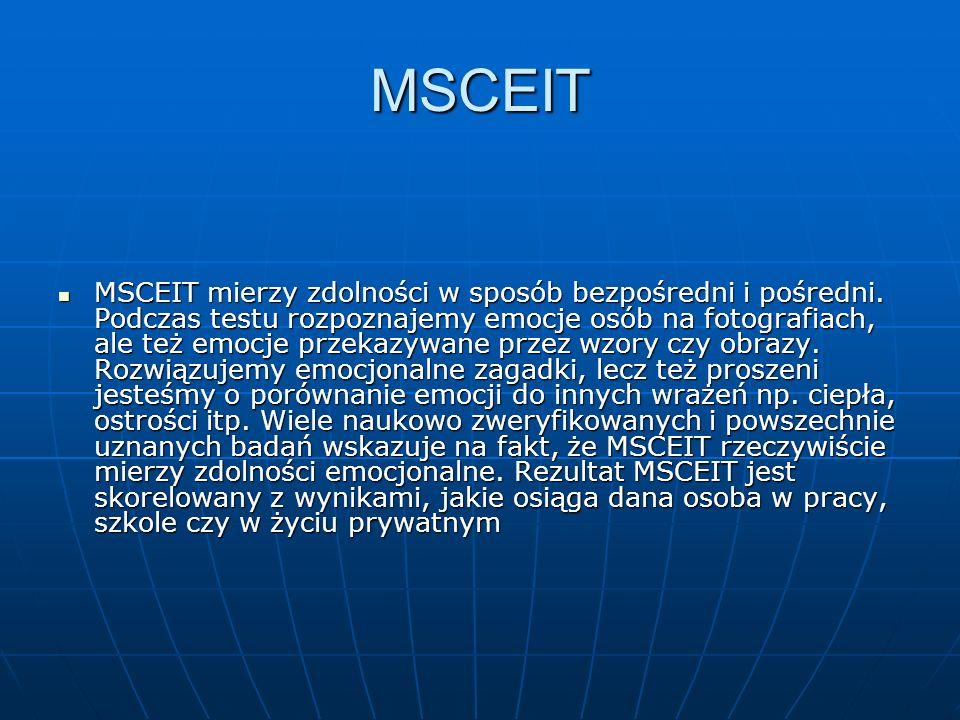 MSCEIT