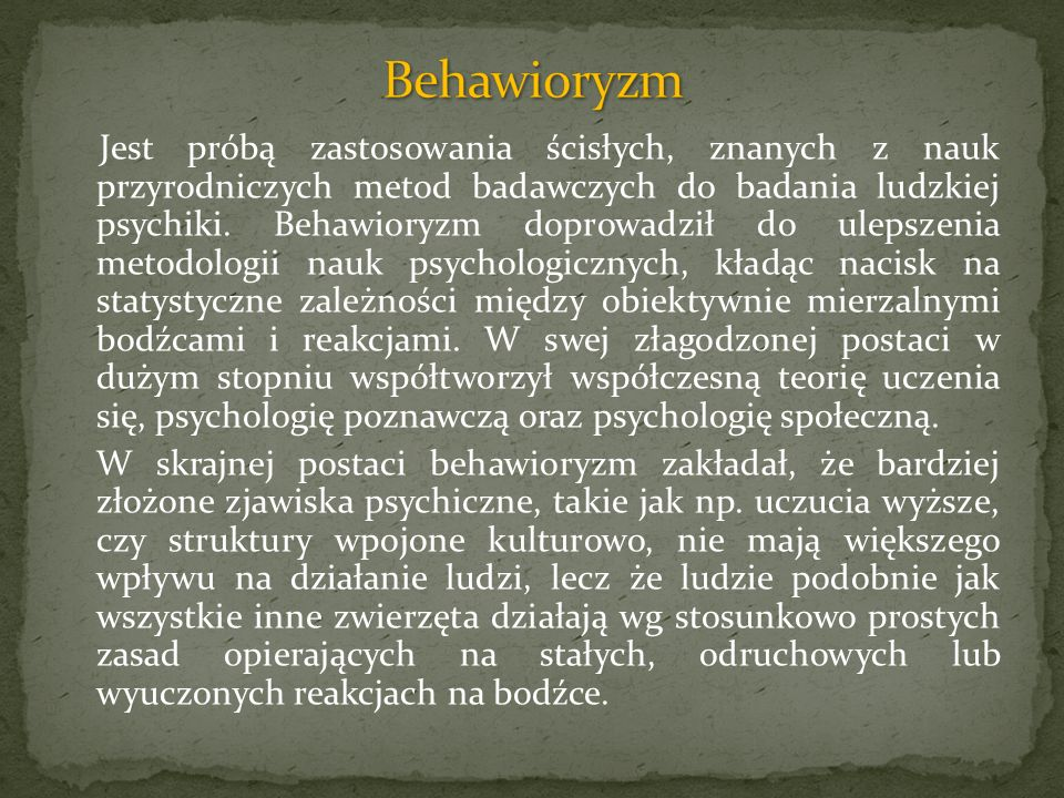 Behawioryzm