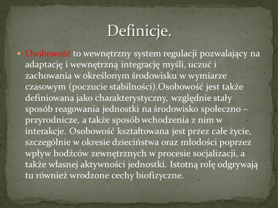 Definicje.