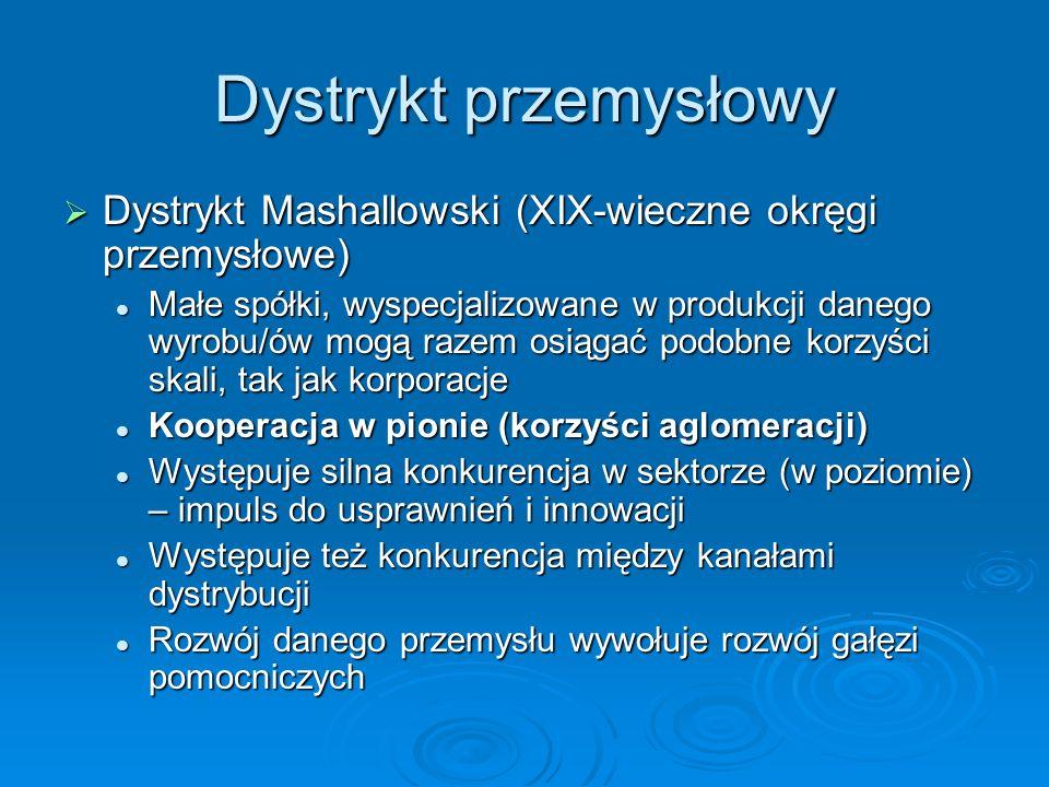 Dystrykt przemysłowy Dystrykt Mashallowski (XIX-wieczne okręgi przemysłowe)