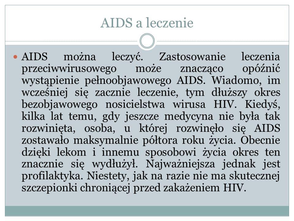 AIDS a leczenie