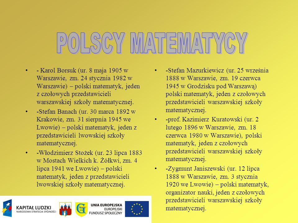 POLSCY MATEMATYCY