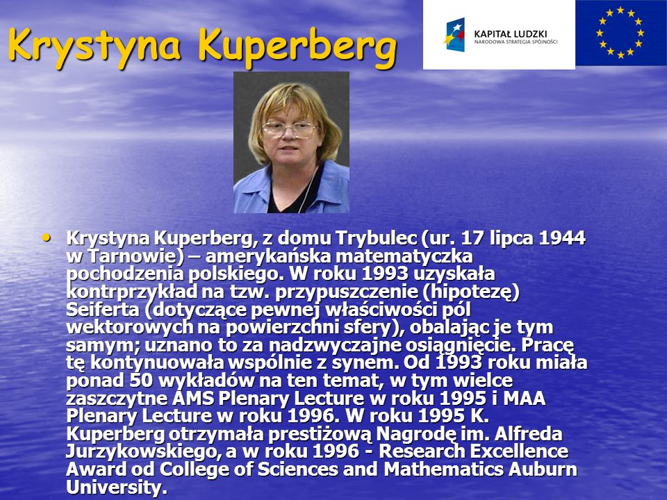 Krystyna Kuperberg
