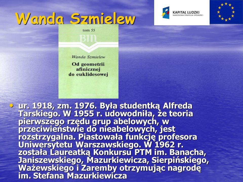 Wanda Szmielew