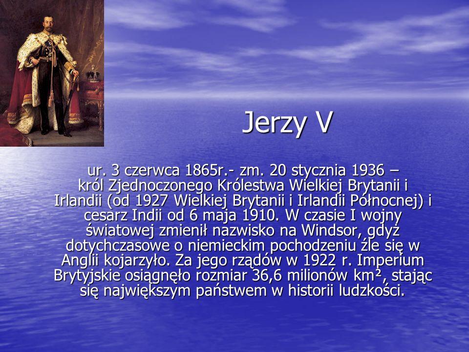 Jerzy V