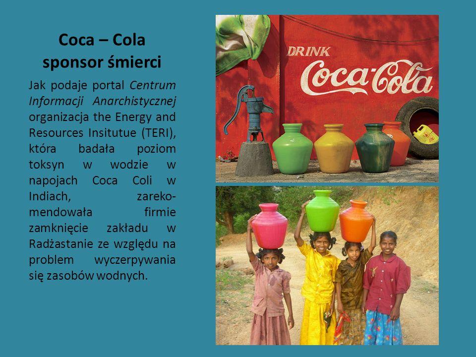 Coca – Cola sponsor śmierci