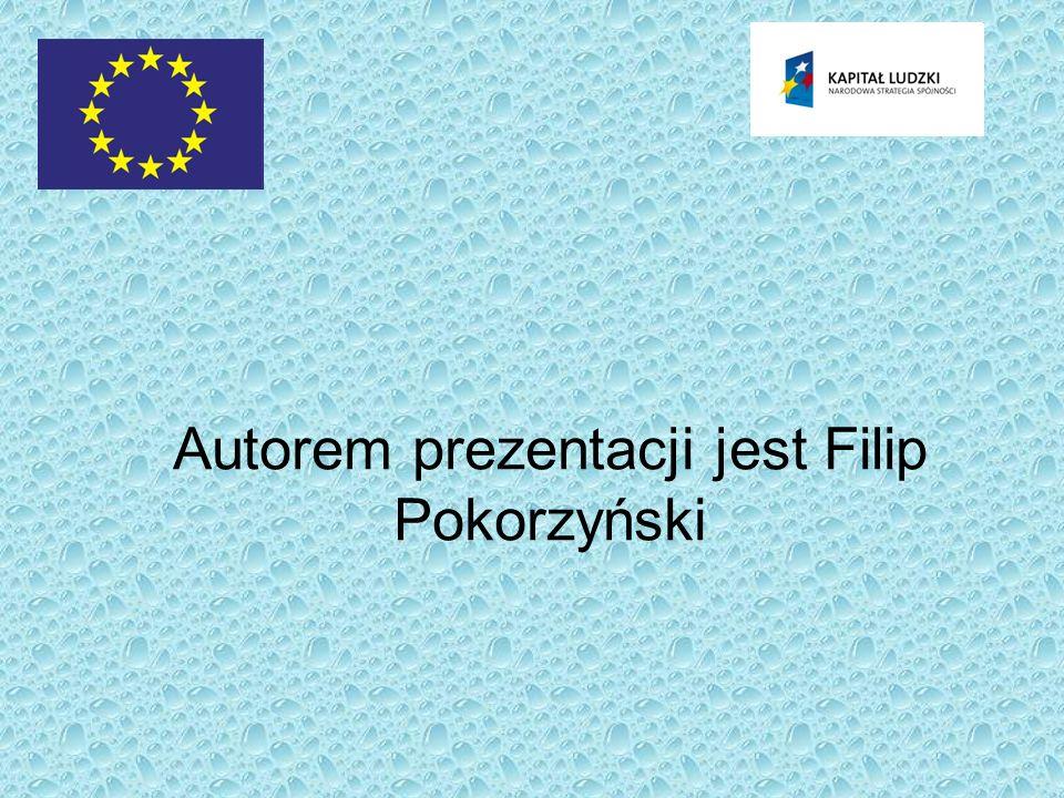 Autorem prezentacji jest Filip Pokorzyński