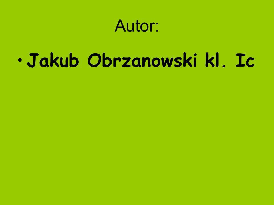Jakub Obrzanowski kl. Ic