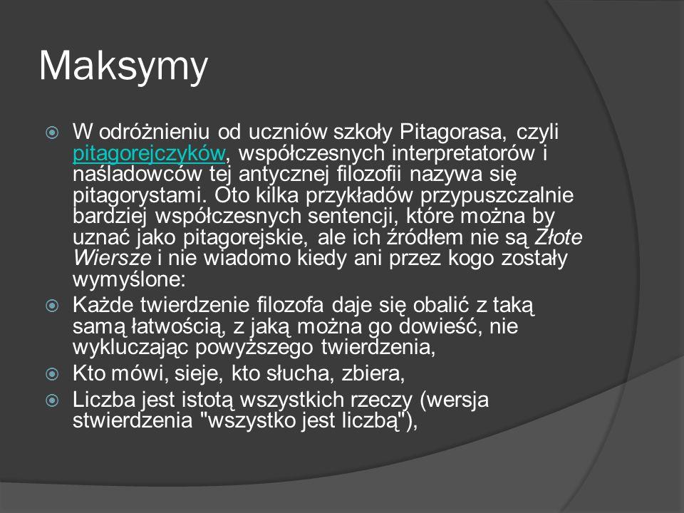 Maksymy