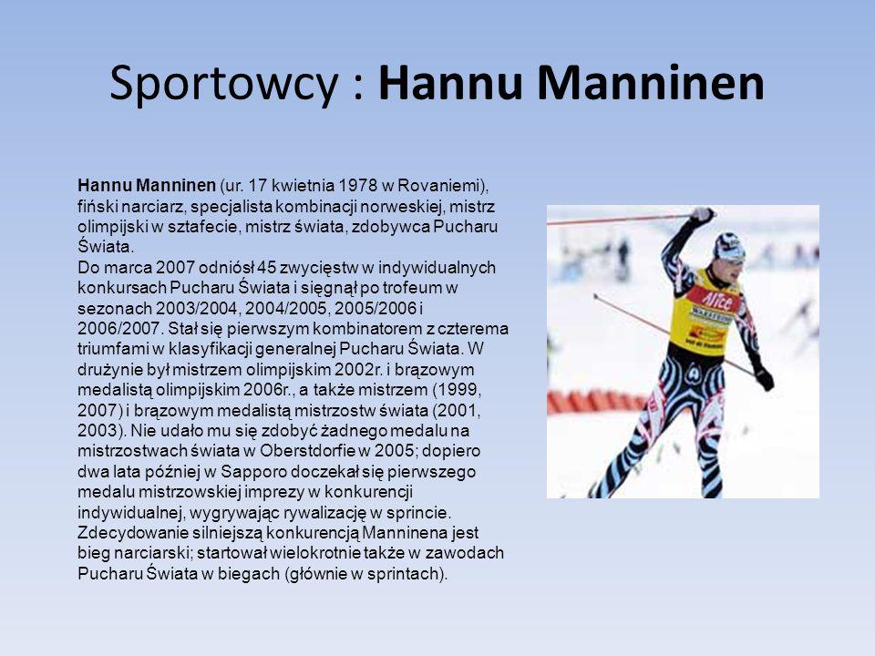 Sportowcy : Hannu Manninen