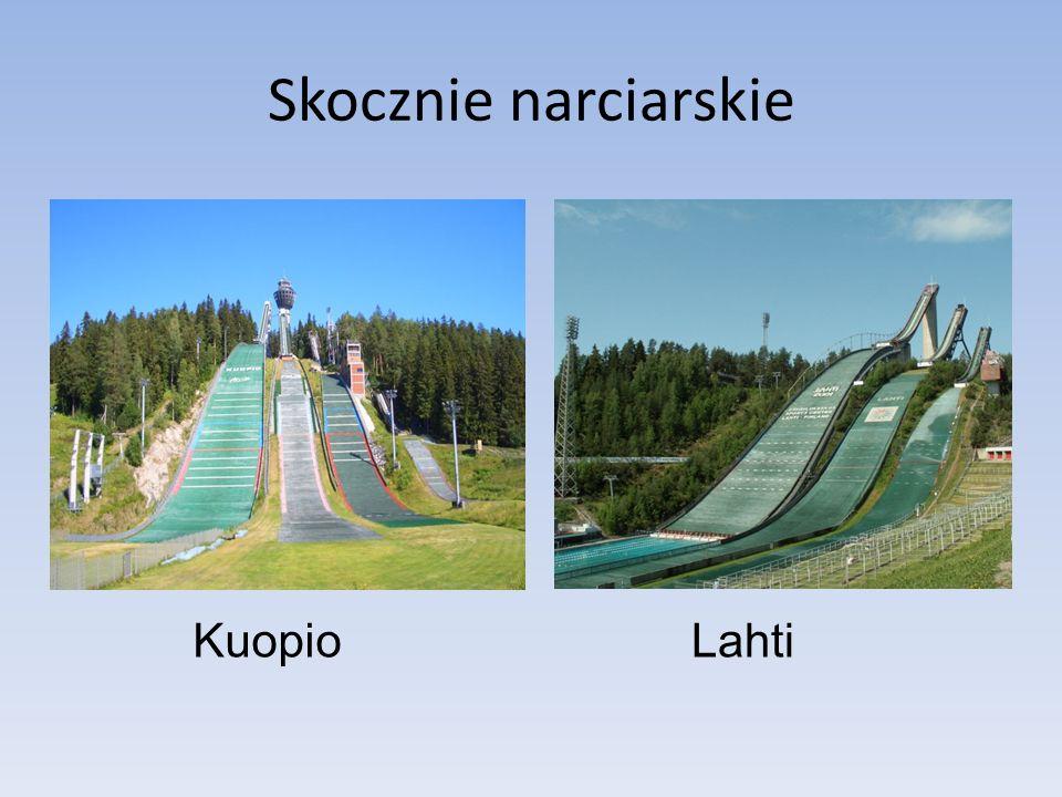 Skocznie narciarskie Kuopio Lahti