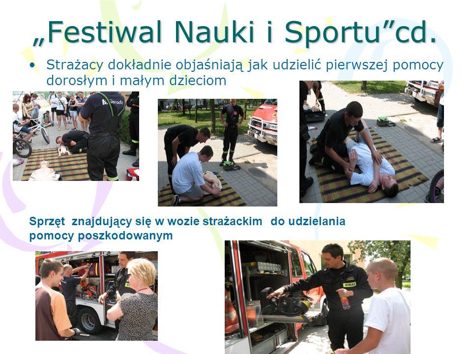"""Festiwal Nauki i Sportu cd."