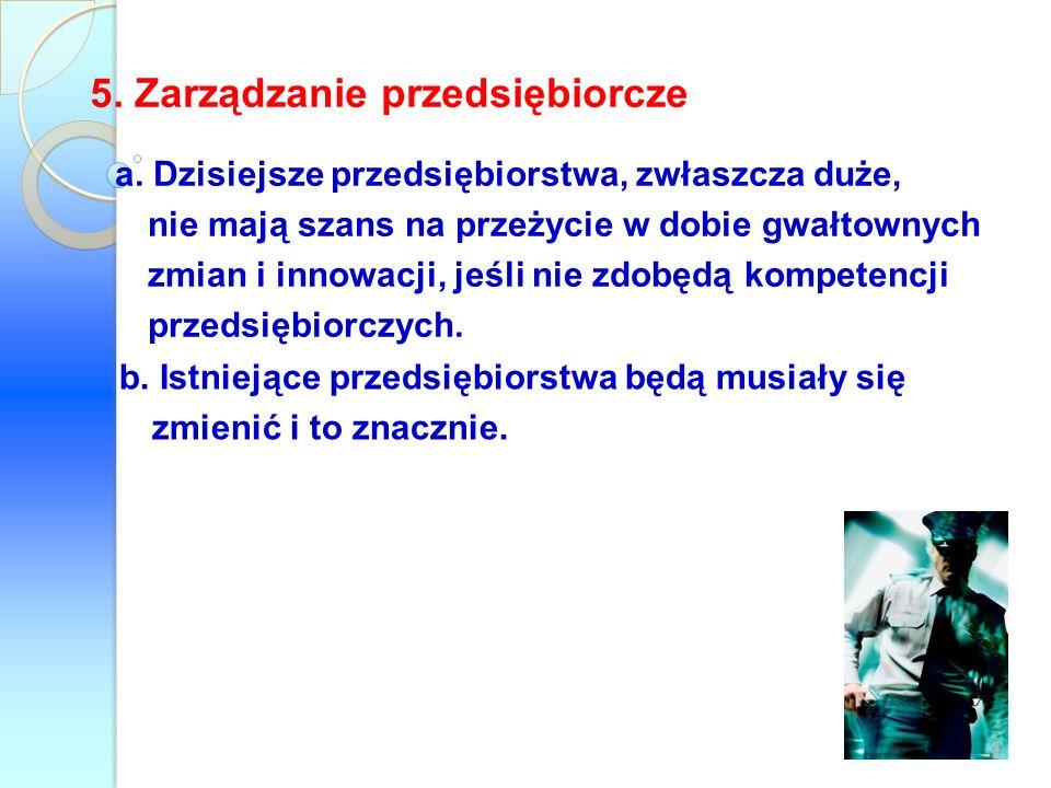5. Zarządzanie przedsiębiorcze