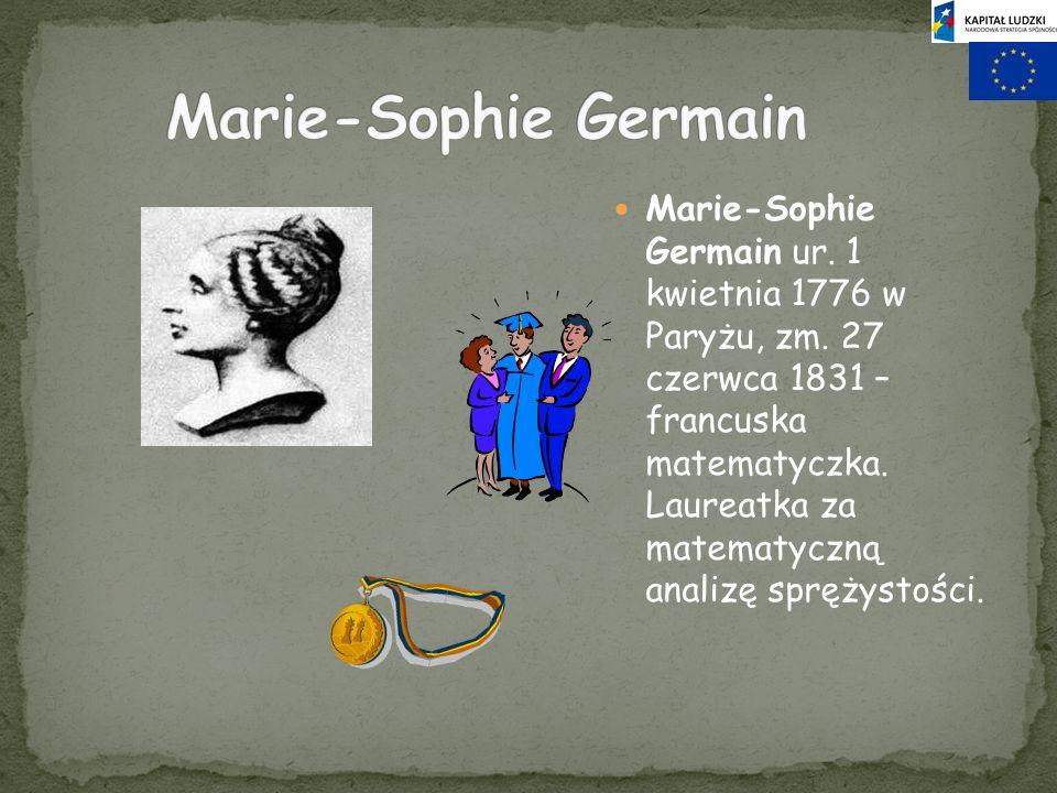 Marie-Sophie Germain