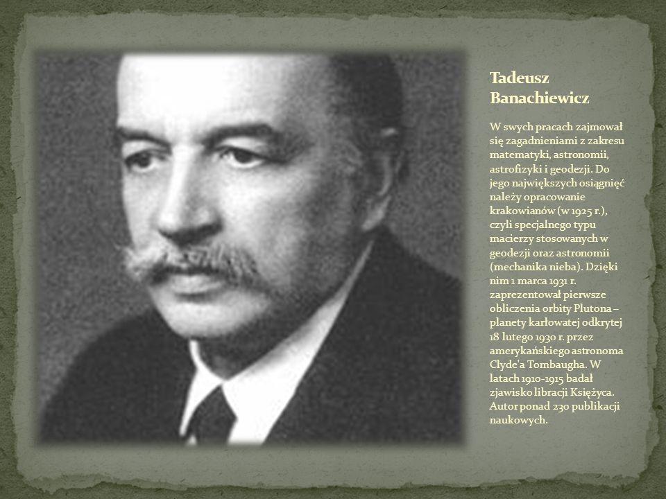 Tadeusz Banachiewicz