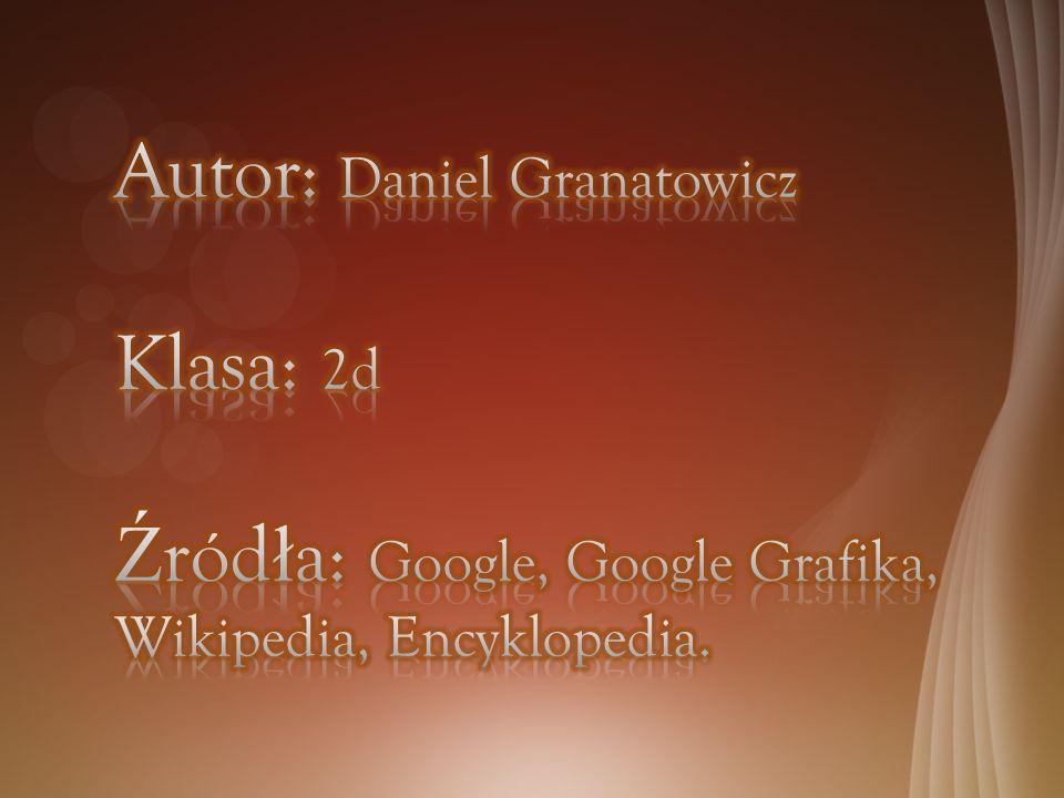 Autor: Daniel Granatowicz