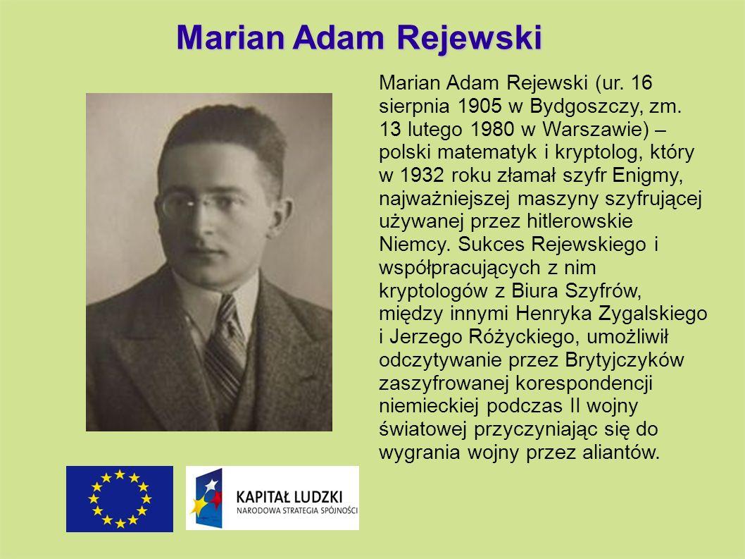 Marian Adam Rejewski