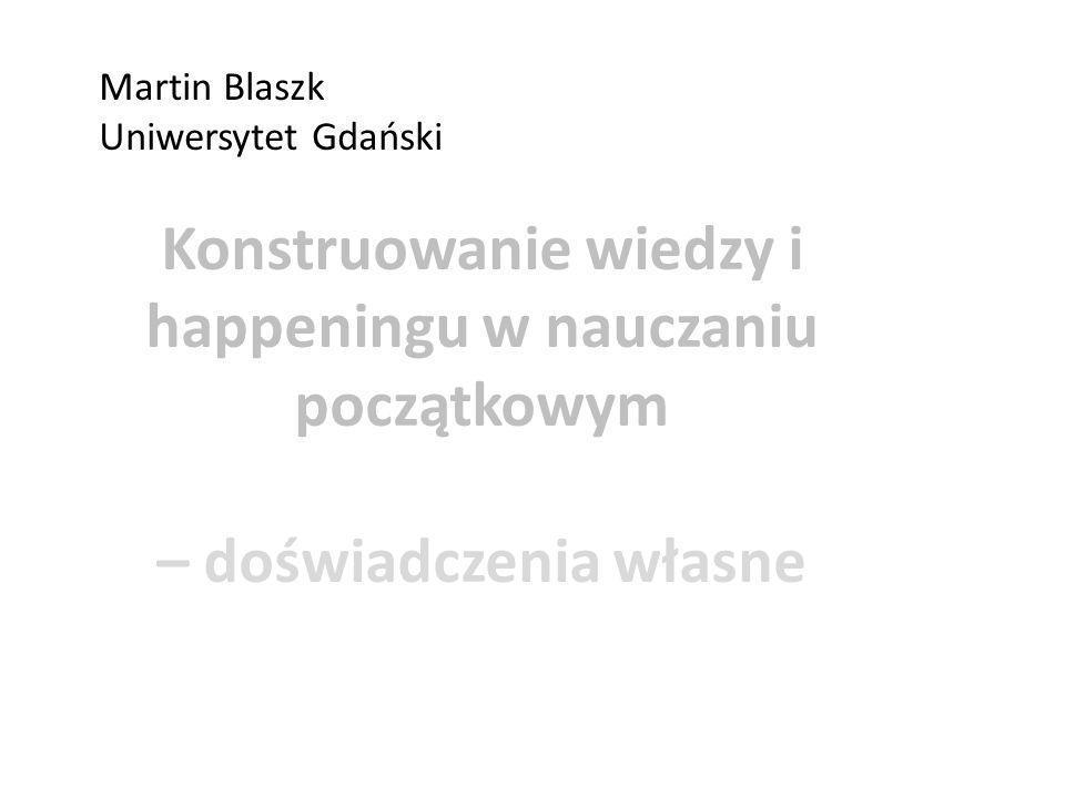 Martin Blaszk Uniwersytet Gdański