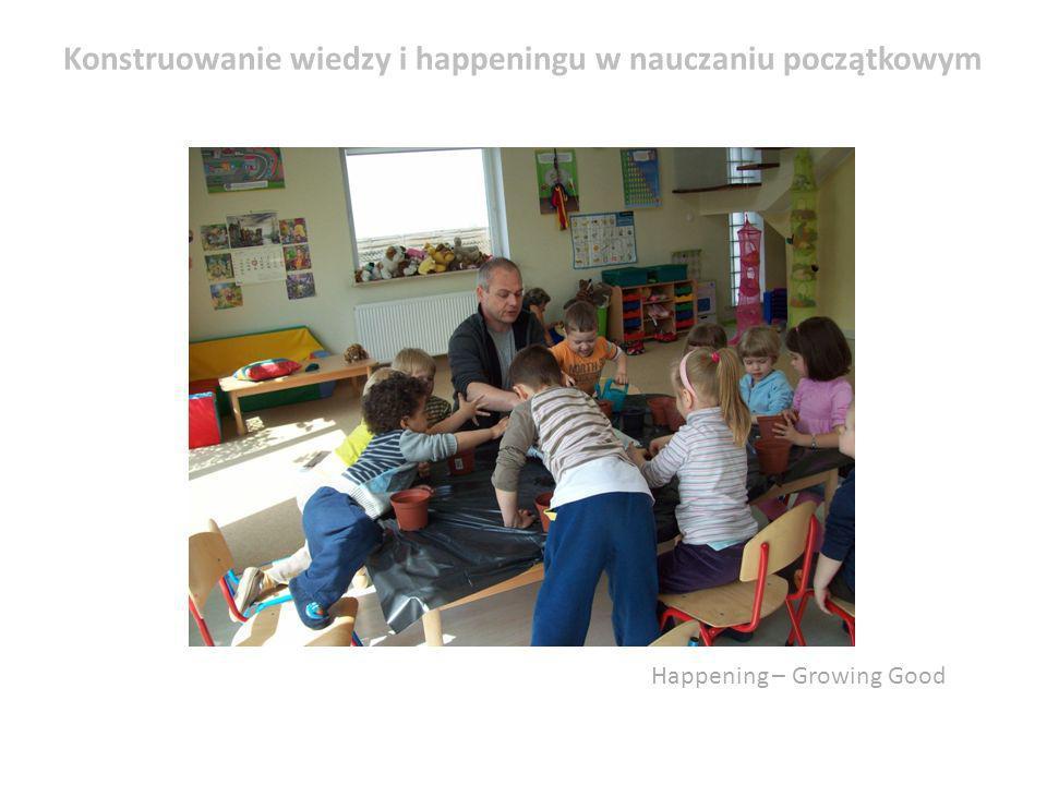 Konstruowanie wiedzy i happeningu w nauczaniu początkowym
