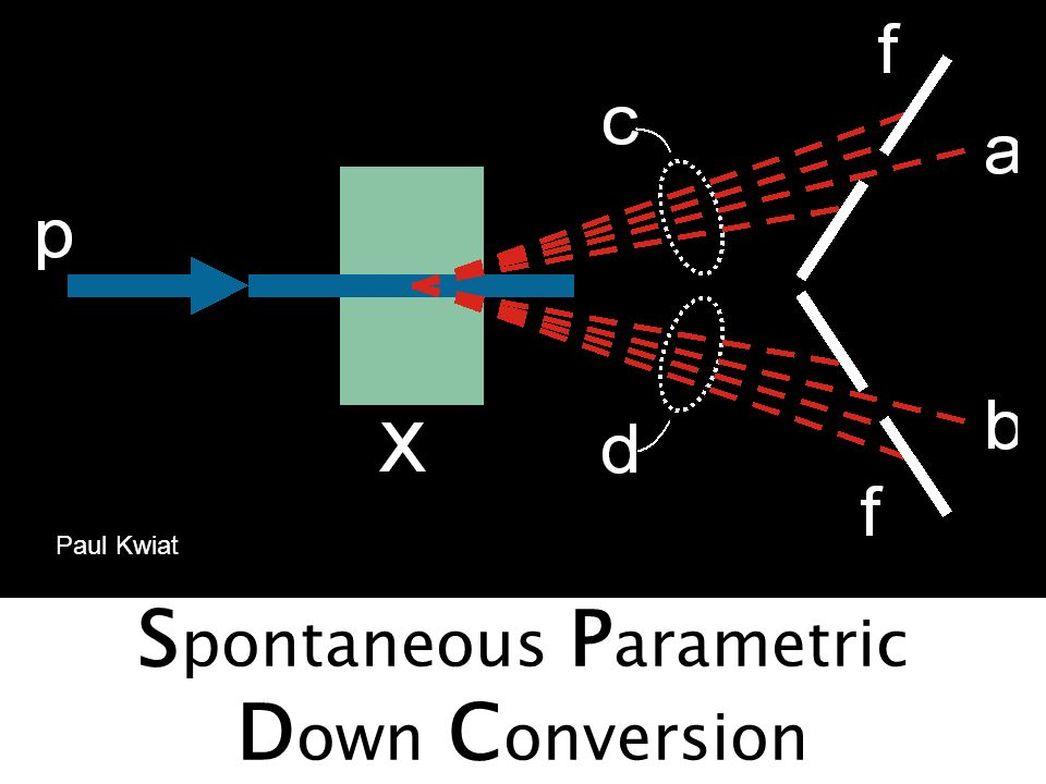 Spontaneous Parametric Down Conversion