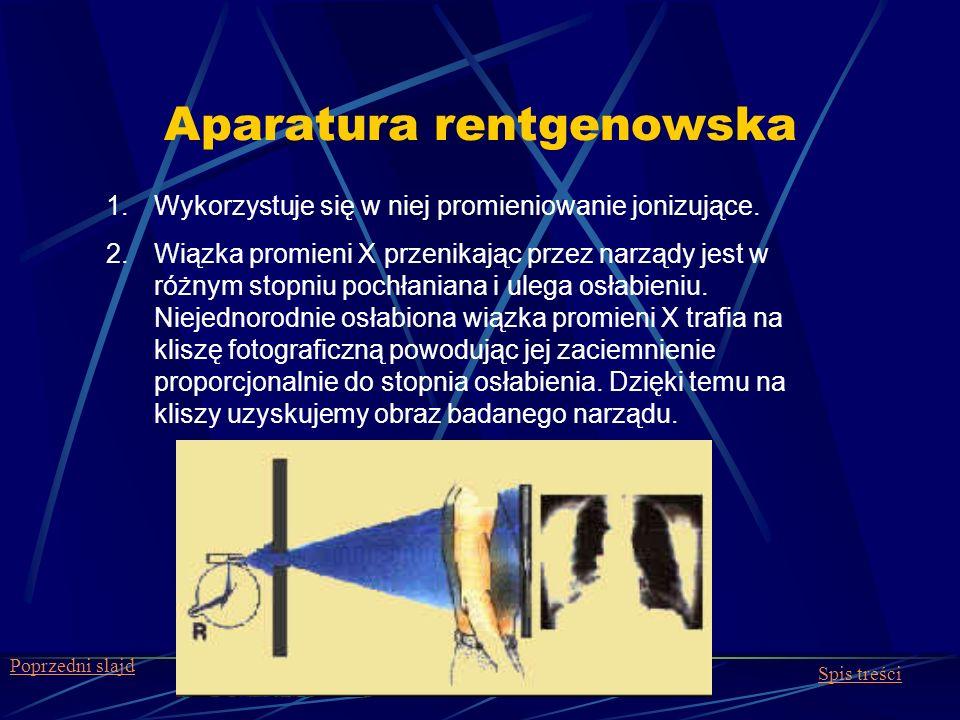 Aparatura rentgenowska