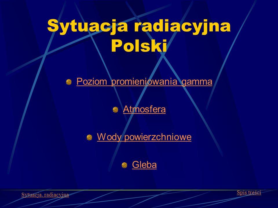 Sytuacja radiacyjna Polski
