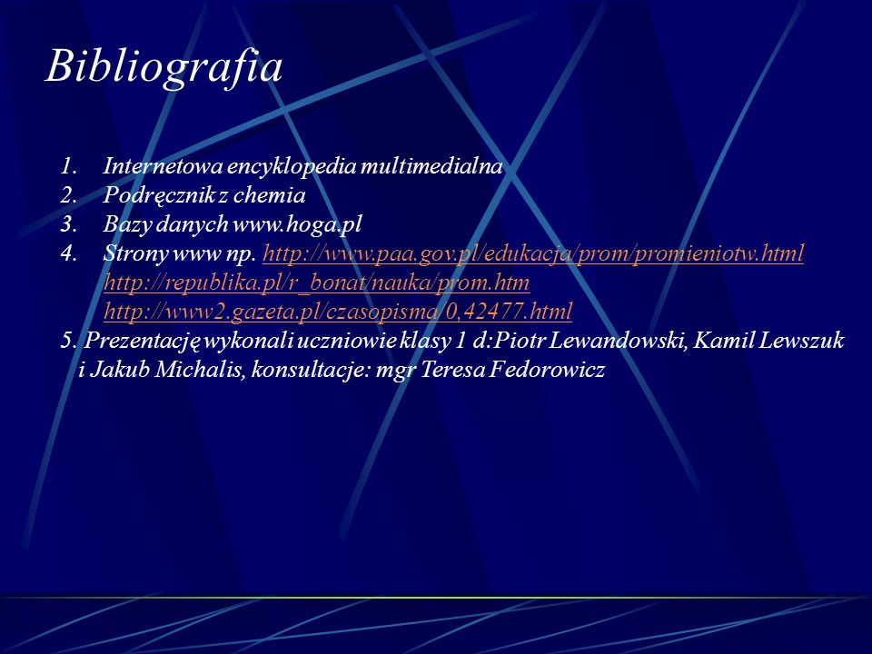 Bibliografia Internetowa encyklopedia multimedialna