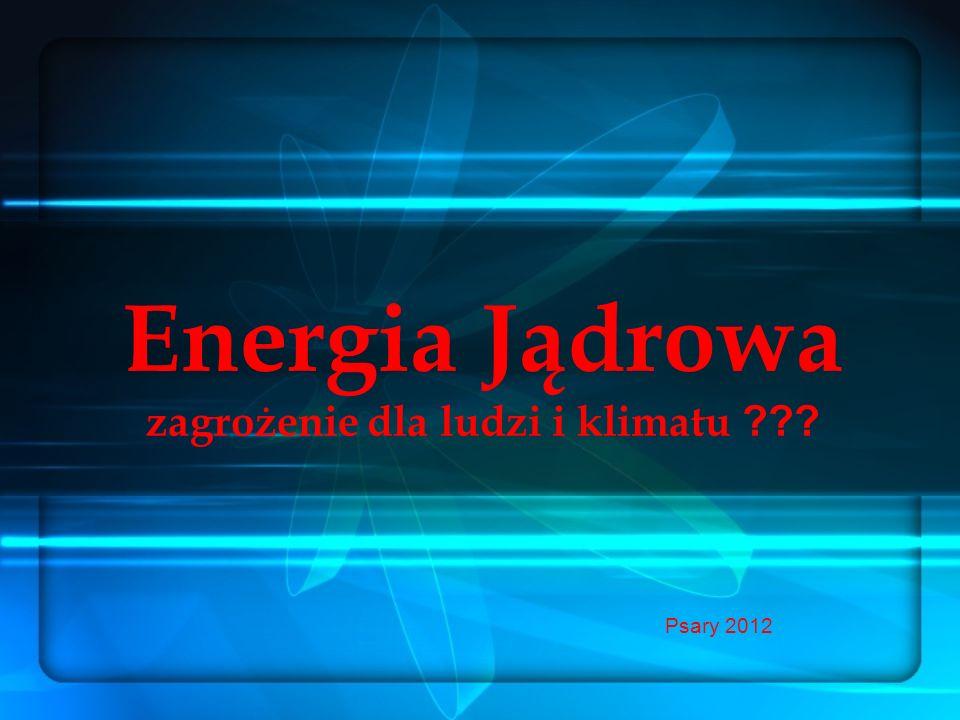 Energia Jądrowa zagrożenie dla ludzi i klimatu