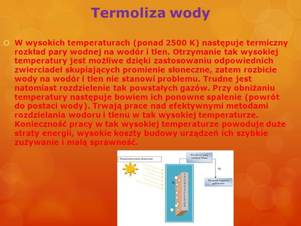 Termoliza wody
