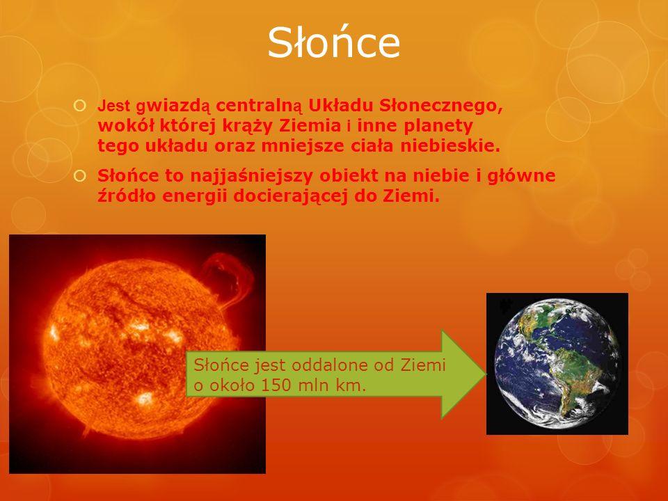 Jest gwiazdą centralną Układu Słonecznego, wokół której krąży Ziemia i inne planety tego układu oraz mniejsze ciała niebieskie.