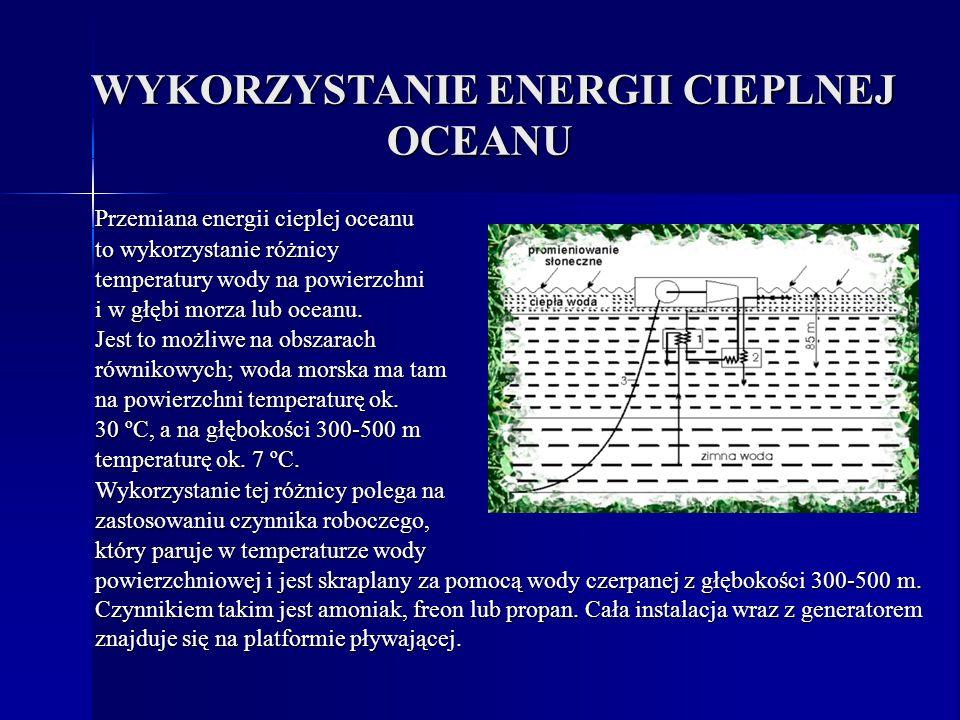 WYKORZYSTANIE ENERGII CIEPLNEJ OCEANU