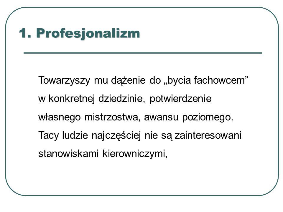 1. Profesjonalizm
