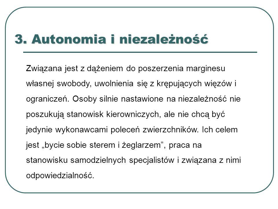 3. Autonomia i niezależność