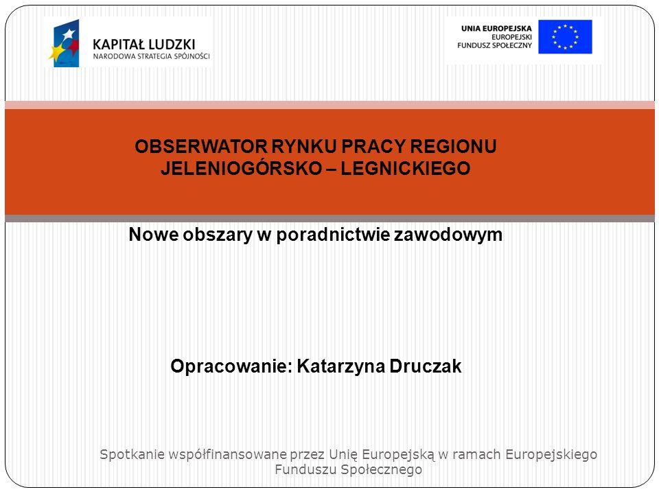 OBSERWATOR RYNKU PRACY REGIONU JELENIOGÓRSKO – LEGNICKIEGO