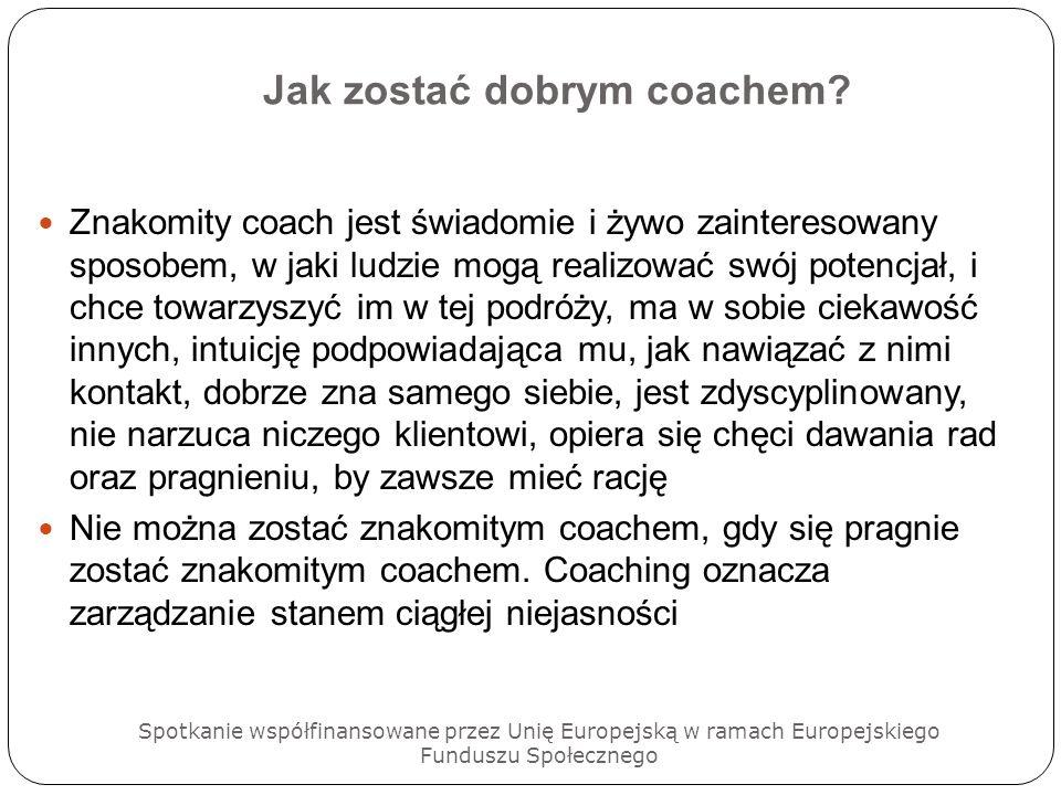 Jak zostać dobrym coachem