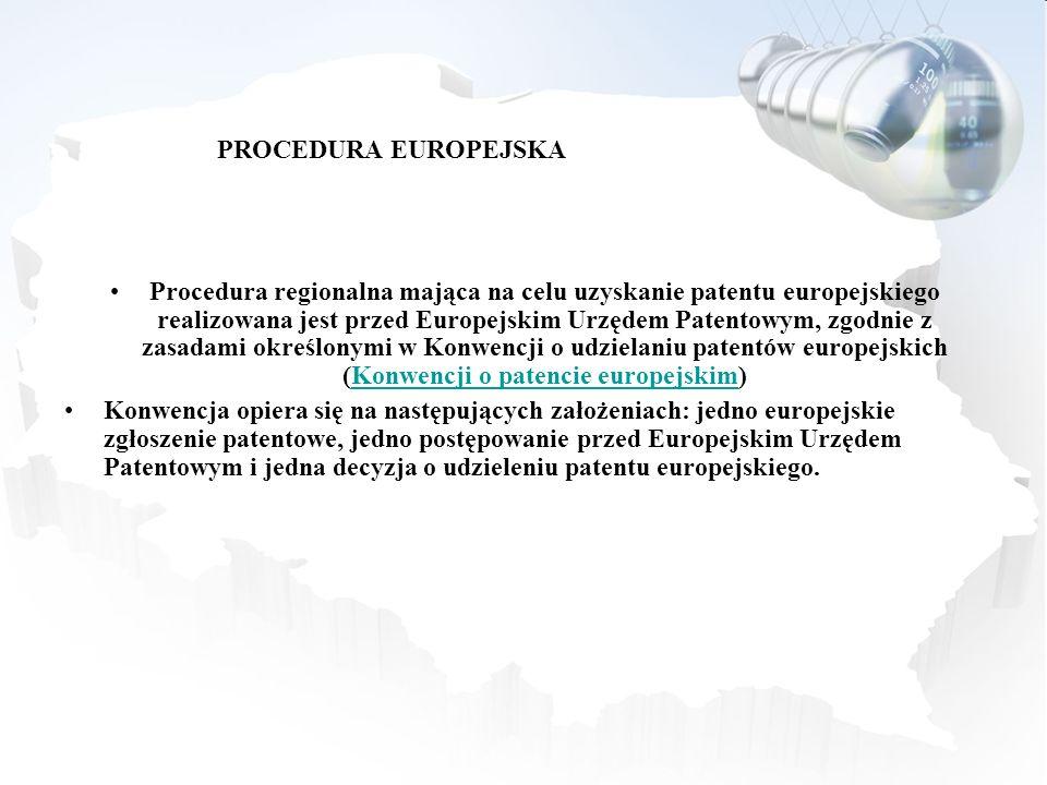 PROCEDURA EUROPEJSKA