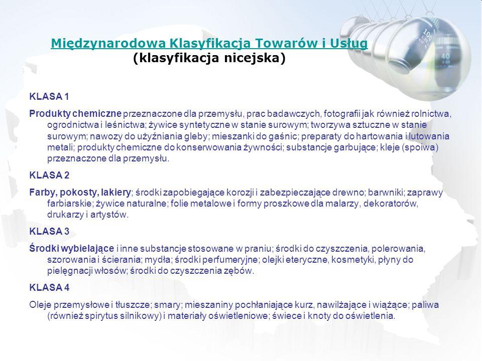Międzynarodowa Klasyfikacja Towarów i Usług (klasyfikacja nicejska)