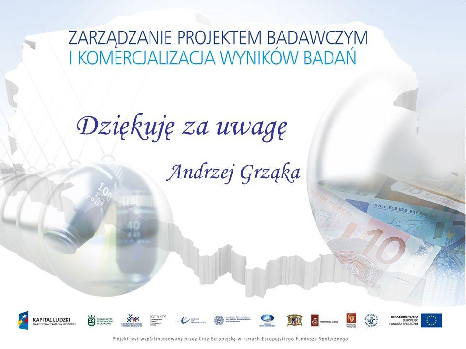 Dziękuję za uwagę Andrzej Grząka