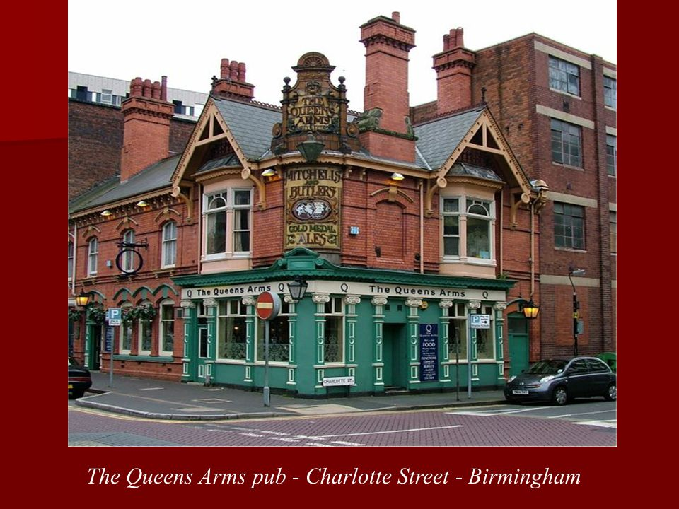 The Queens Arms pub - Charlotte Street - Birmingham