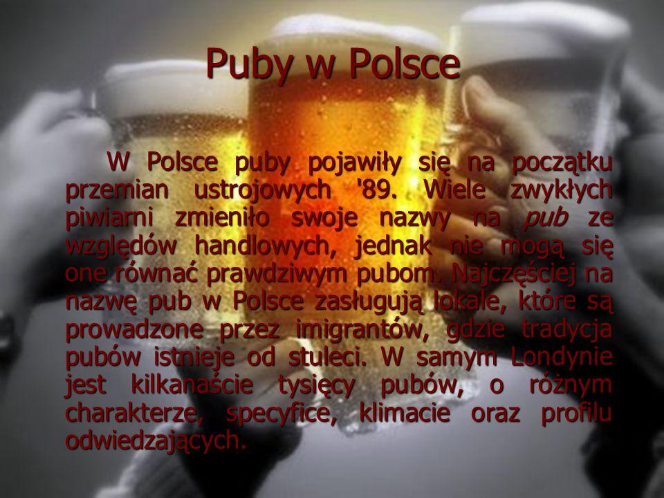 Puby w Polsce