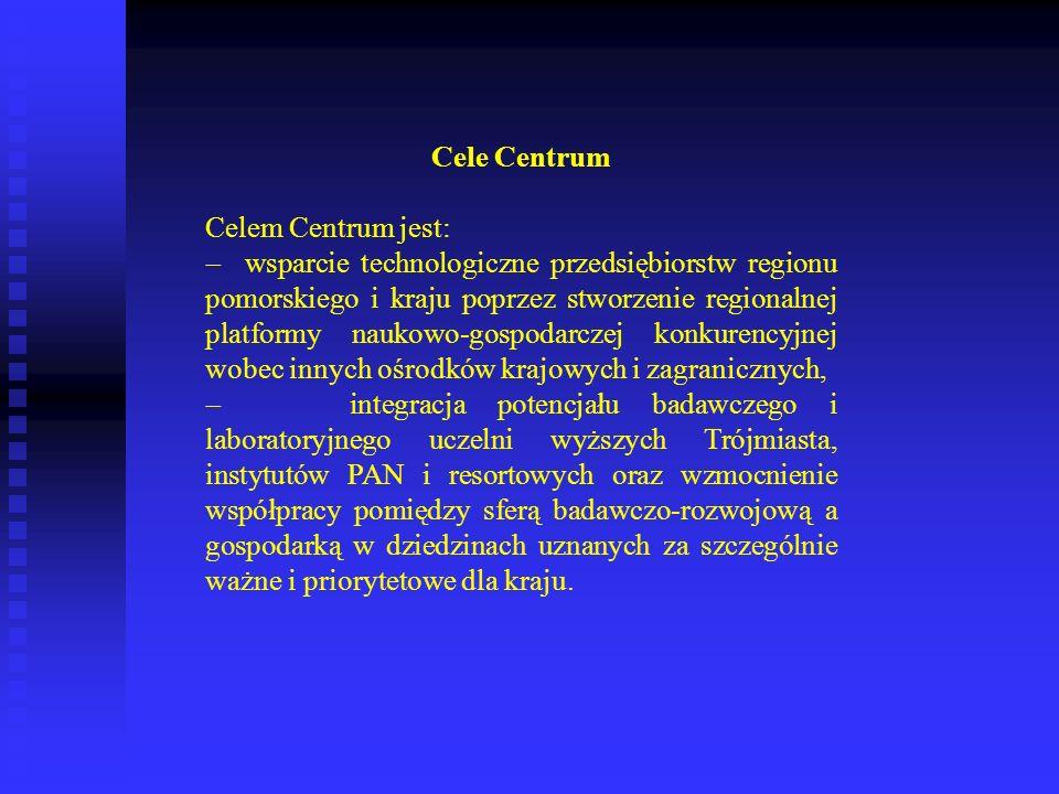 Cele CentrumCelem Centrum jest: