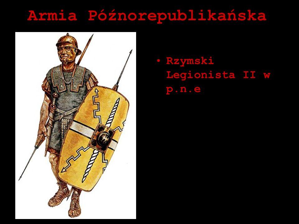 Armia Późnorepublikańska