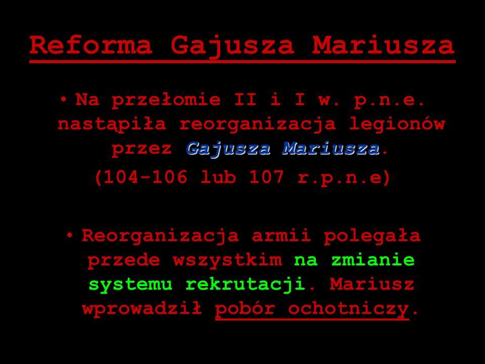 Reforma Gajusza Mariusza