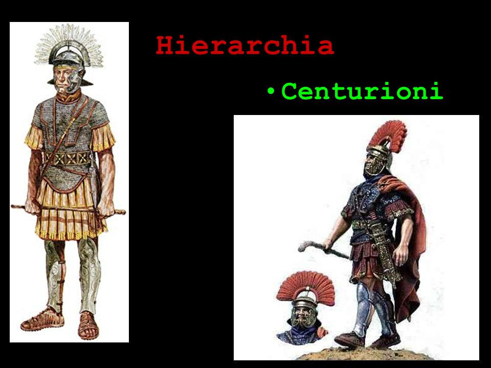 Hierarchia Centurioni